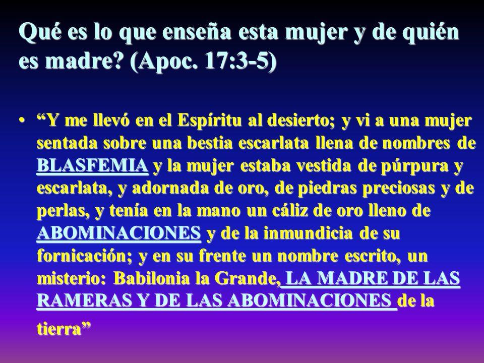 Contra qué se opone el misterio de la iniquidad? (2 Tes. 2:4) El cual se opone y se levanta contra todo lo que se llama Dios o es objeto de culto... C