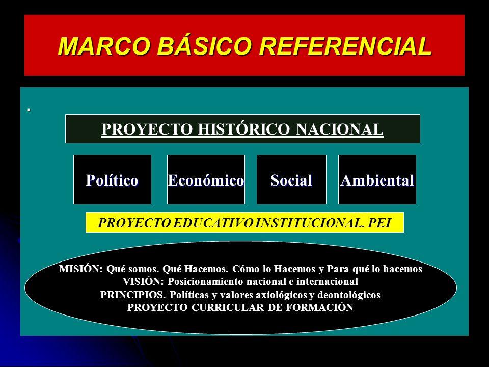MARCO BÁSICO REFERENCIAL.