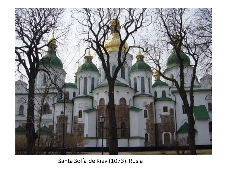 Santa Sofía de Kiev (1073). Rusia