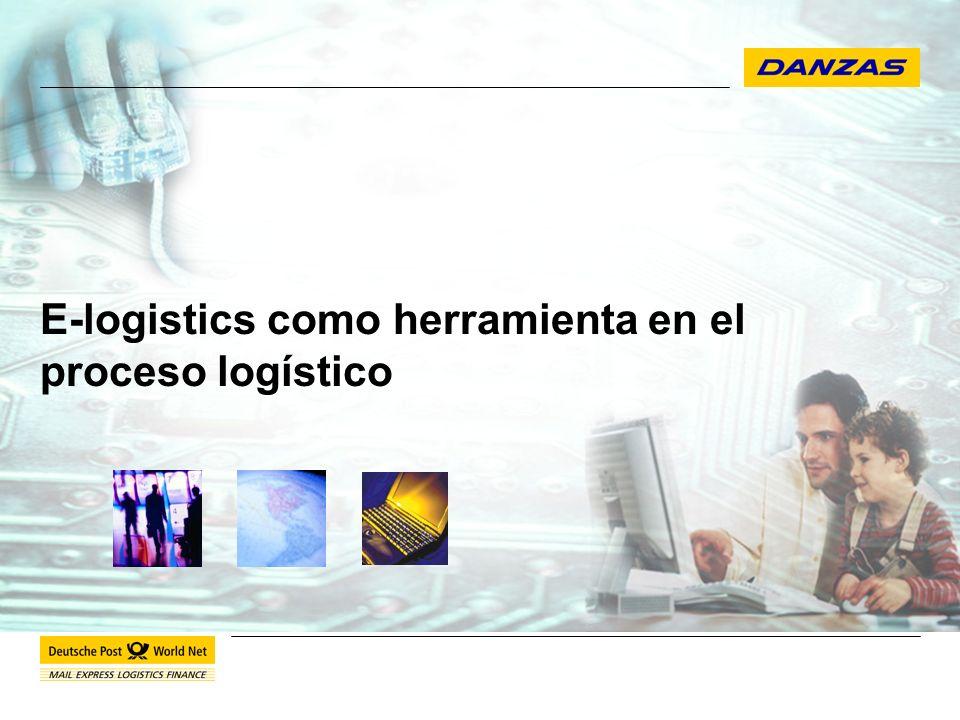 E-logistics como herramienta en el proceso logístico 12 Congreso Internacional de Comercio Exterior.