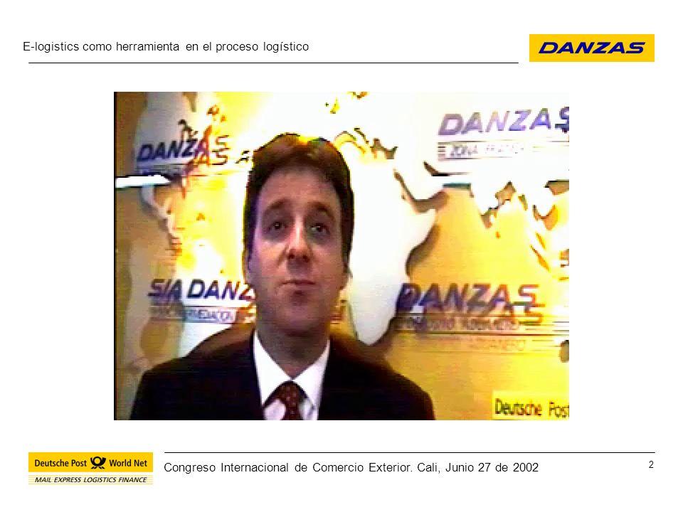 E-logistics como herramienta en el proceso logístico 23 Congreso Internacional de Comercio Exterior.