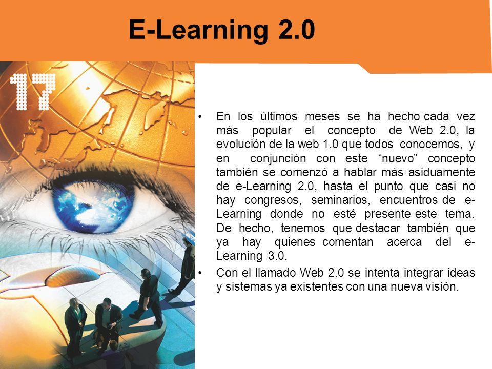 ¿Cómo se emplea e-Learning 2.0.Nos encontramos en un proceso todavía primario.