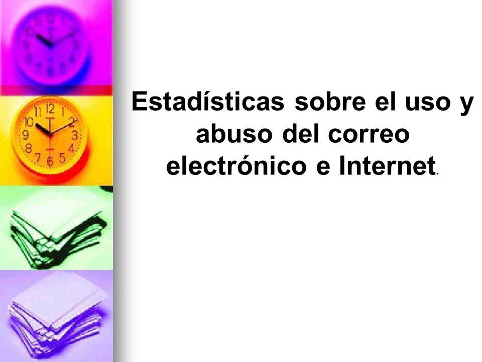 Según una encuesta de PWC (Price Water House Cooper) e IESE, entre noventa y una empresas españolas, el correo electrónico está menos controlado en un 24% que la navegación por Internet.