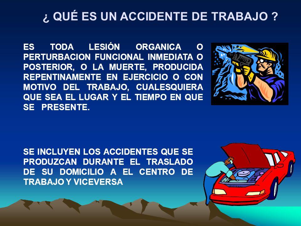 SON LOS ACCIDENTES Y ENFERMEDADES A QUE ESTAN EXPUESTOS LOS TRABAJADORES EN EJERCICIO O CON MOTIVO DEL TRABAJO (ARTICULO 473 DE LA LEY FEDERAL DEL TRA