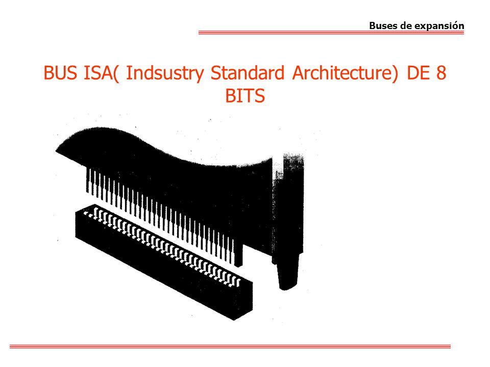 BUS ISA( Indsustry Standard Architecture) DE 8 BITS Buses de expansión