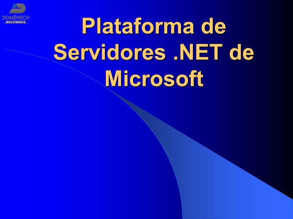 Plataforma de Servidores.NET de Microsoft