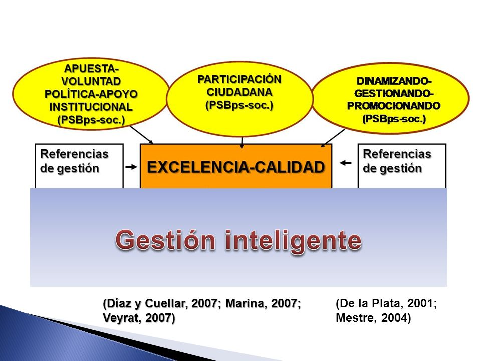 (De la Plata, 2001; Mestre, 2004) (Díaz y Cuellar, 2007; Marina, 2007; Veyrat, 2007)