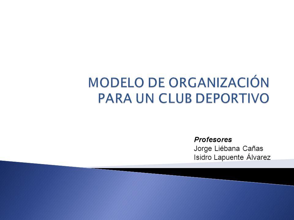 Profesores Jorge Liébana Cañas Isidro Lapuente Álvarez