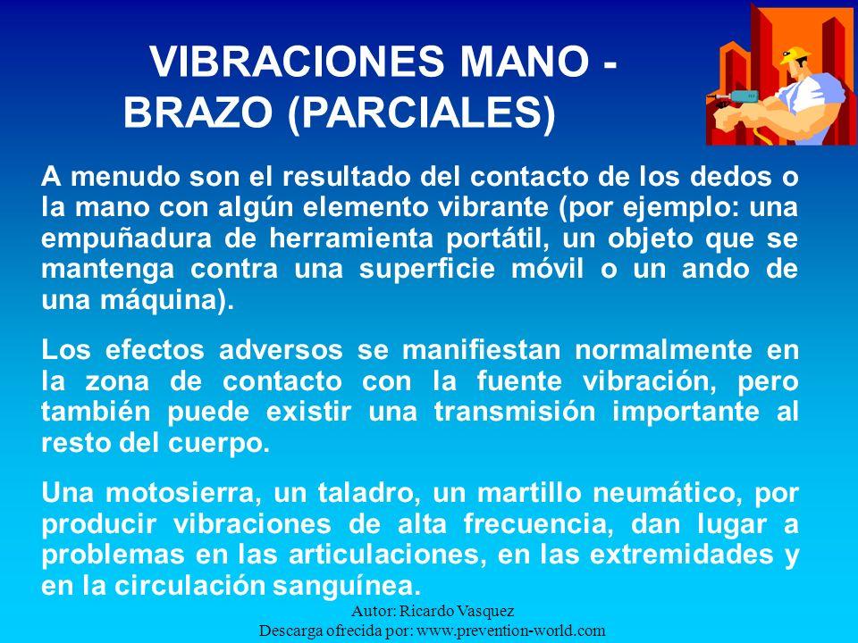 Autor: Ricardo Vasquez Descarga ofrecida por: www.prevention-world.com A menudo son el resultado del contacto de los dedos o la mano con algún element