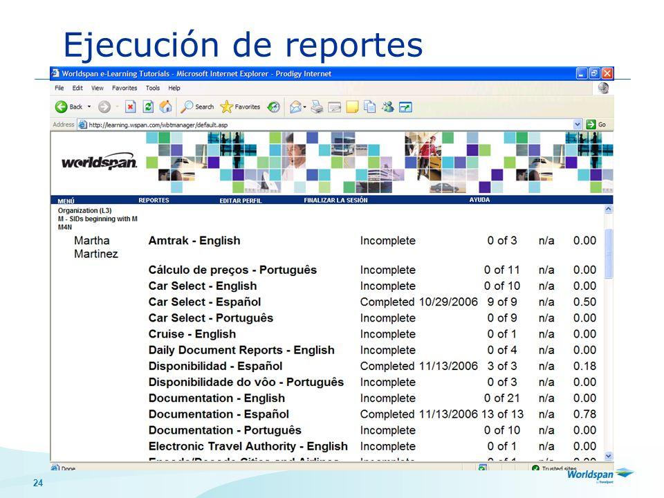 24 Ejecución de reportes