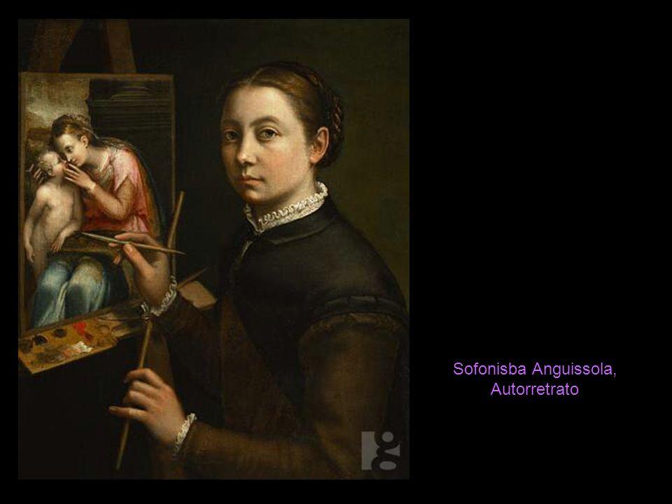 Sofonisba Anguissola, Autorretrato