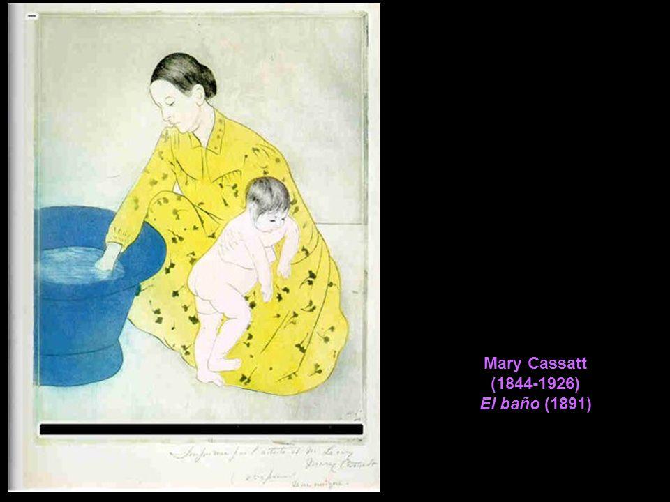 Mary Cassatt (1844-1926) El baño (1891)