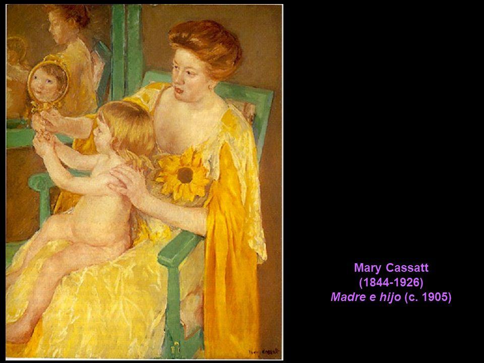 Mary Cassatt (1844-1926) Madre e hijo (c. 1905)