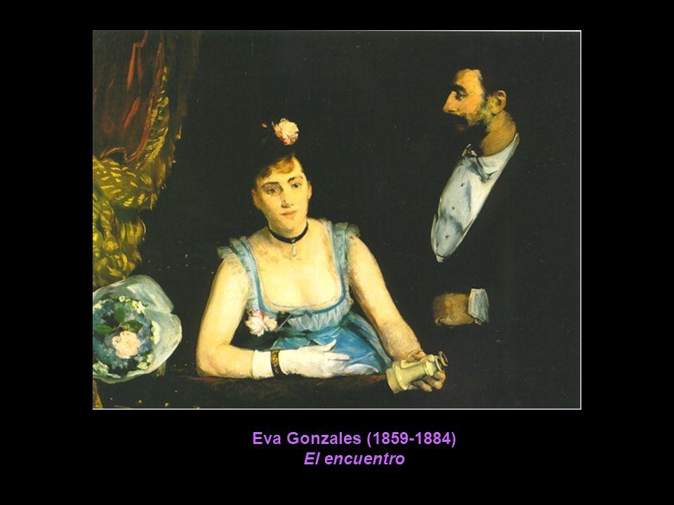 Eva Gonzales (1859-1884) El encuentro