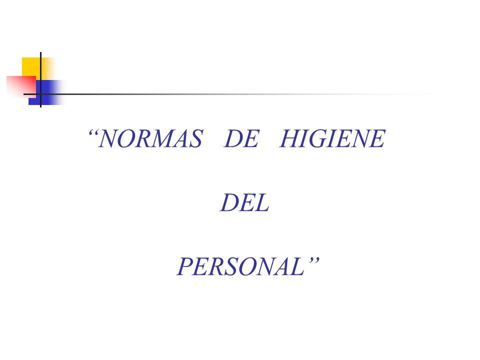 …EL PERSONAL NO DEBE 14.