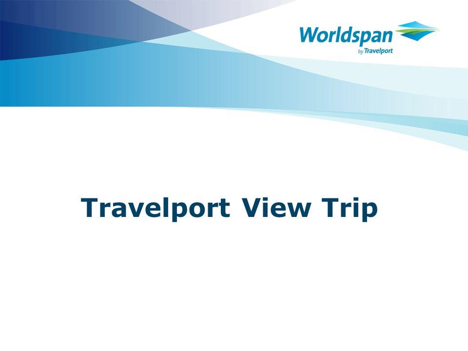 Travelport View Trip