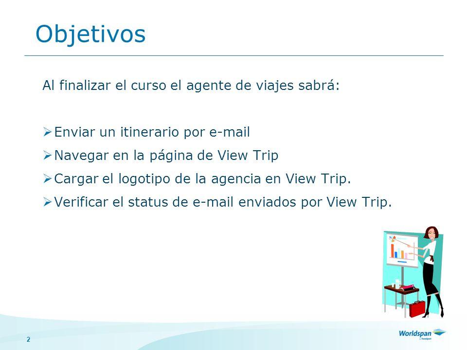 3 ¿Qué es Travelport View Trip.