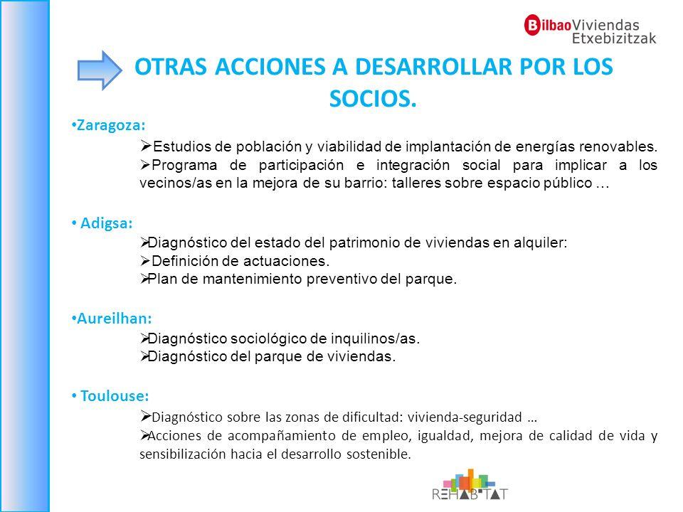Zaragoza: Estudios de población y viabilidad de implantación de energías renovables. Programa de participación e integración social para implicar a lo
