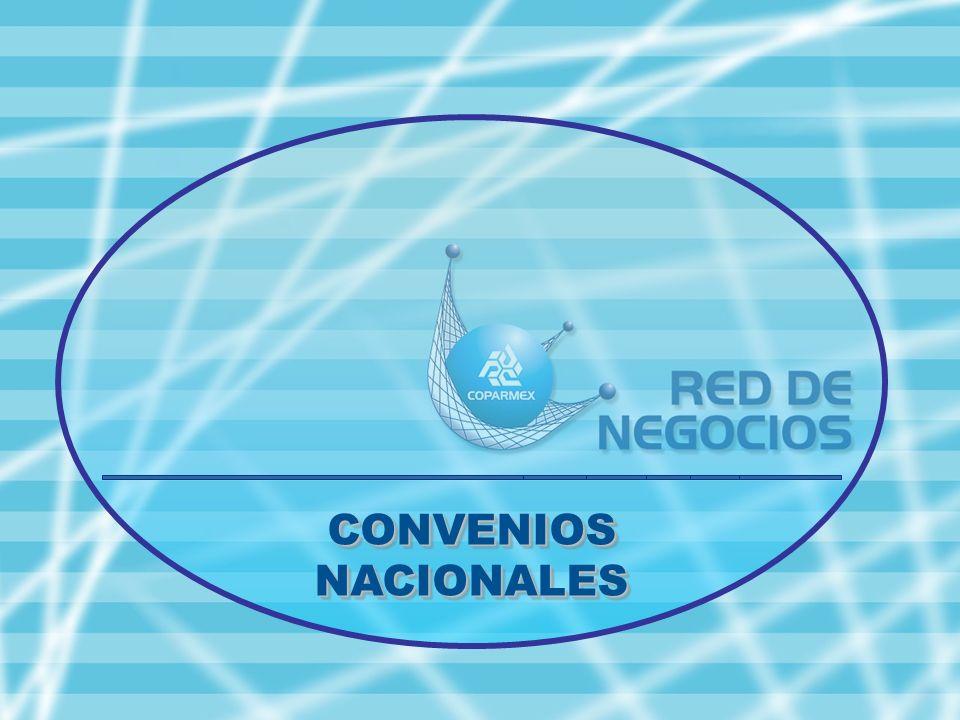 LOS SERVICIOS CON LOS QUE CONTARA EL AFILIADO EN EL NUEVO PORTAL… CONVENIOS NACIONALES