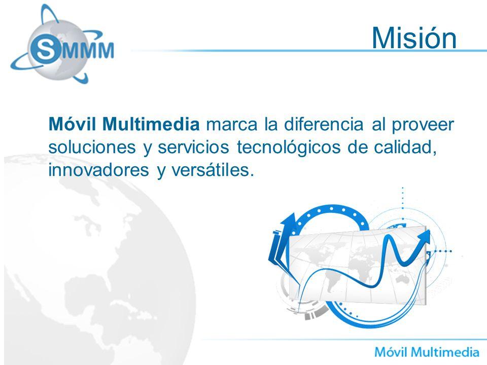 Misión Móvil Multimedia marca la diferencia al proveer soluciones y servicios tecnológicos de calidad, innovadores y versátiles.