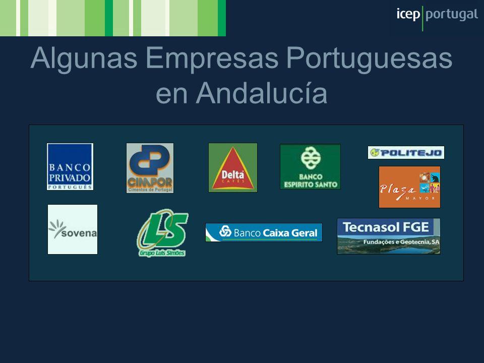 Algunas Empresas Portuguesas en Andalucía