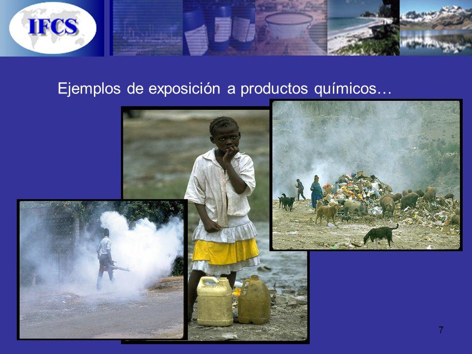 7 Ejemplos de exposición a productos químicos…