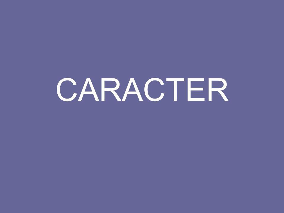 CARACTER
