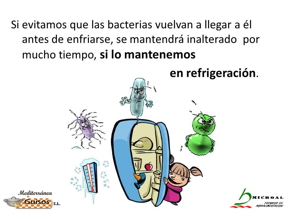 Si evitamos que las bacterias vuelvan a llegar a él antes de enfriarse, se mantendrá inalterado por mucho tiempo, si lo mantenemos en refrigeración.
