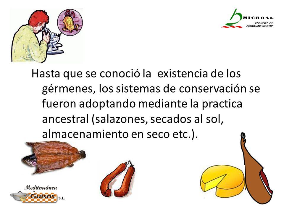 Pero hoy, gracias a las investigaciones de Pasteur, conocemos la forma de utilizar una herramienta definitiva para estabilizar los alimentos….