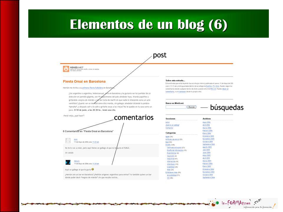 Elementos de un blog (6)