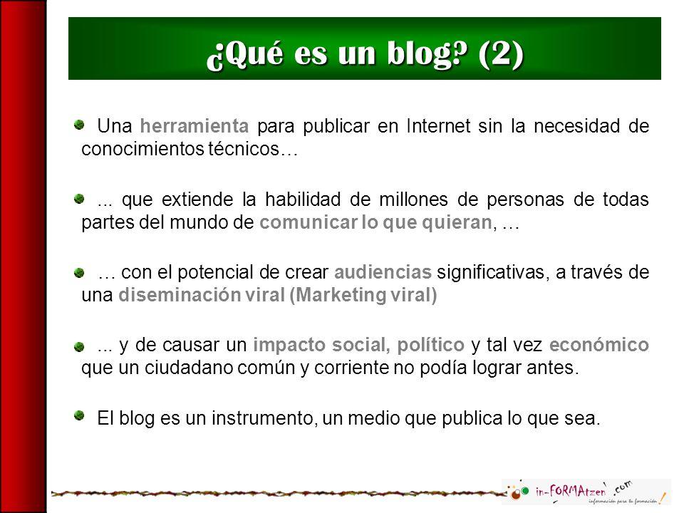 Elementos de un blog (7)