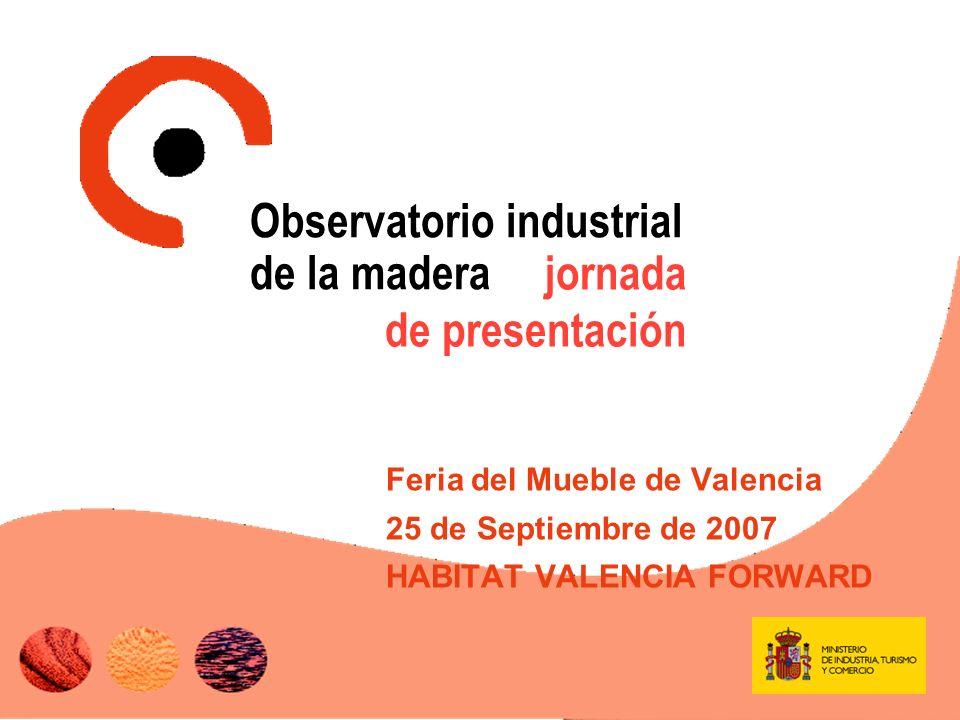 El Sector (I) Cuenta con un gran peso dentro de la industria española por el número de empresas (>38.000) y por el empleo que genera (~9% empleo industrial) Estructura empresarial atomizada (94% tiene menos de 20 trabajadores) Concentración geográfica: C.