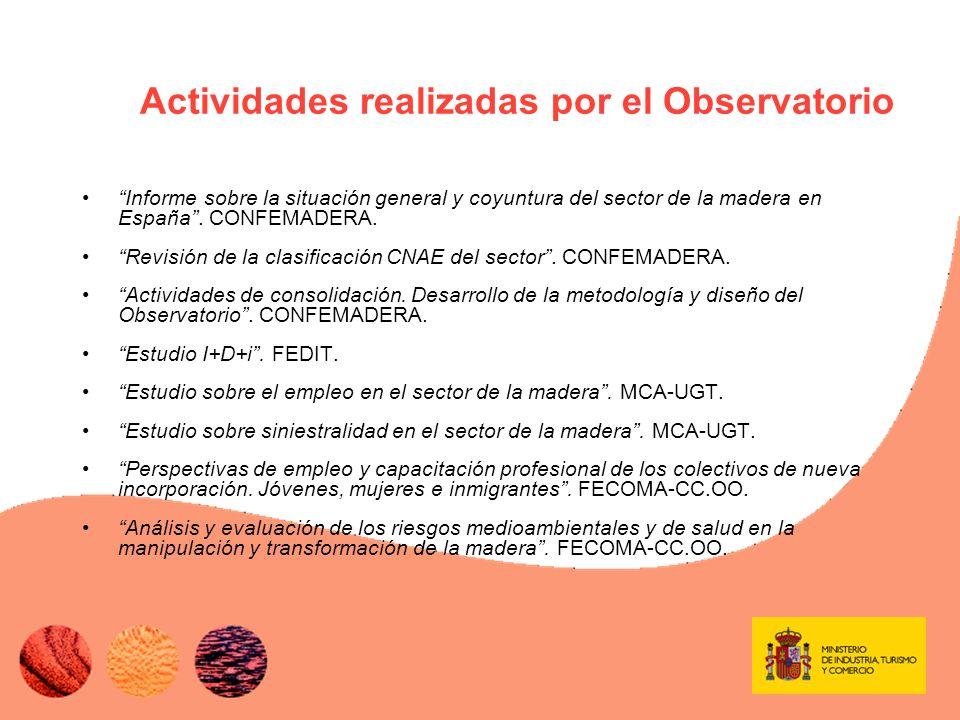 MUCHAS GRACIAS POR SU ATENCIÓN Más información en obs-madera@mityc.es