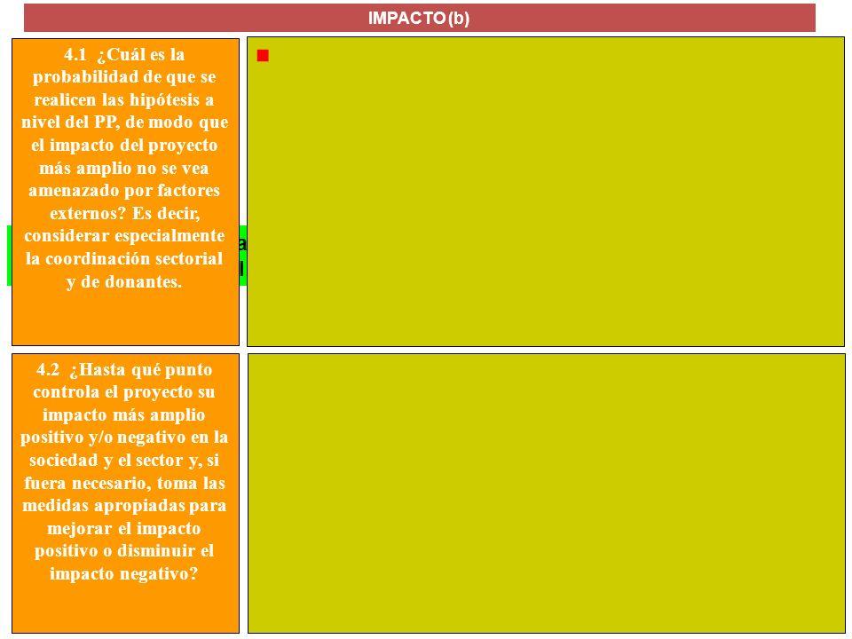 MANUAL FORMULACIÓN DE PROYECTOS PARA LA COOPERACIÓN INTERNACIONAL La contribución realizada por los resultados del proyecto para alcanzar el objetivo