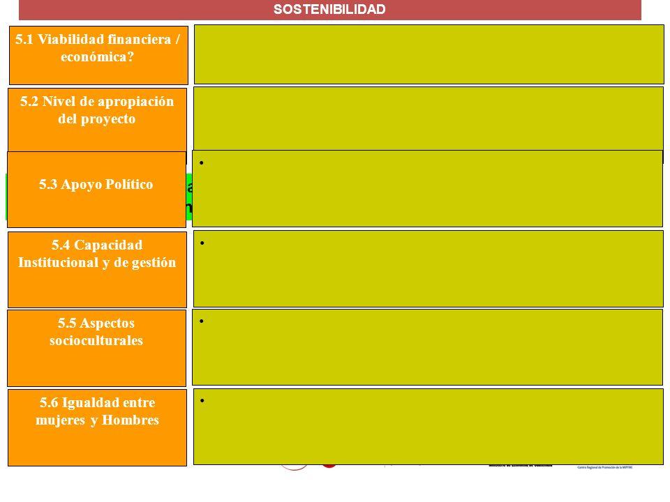 MANUAL FORMULACIÓN DE PROYECTOS PARA LA COOPERACIÓN INTERNACIONAL La probabilidad de una continuación en la corriente de beneficios producida por el p