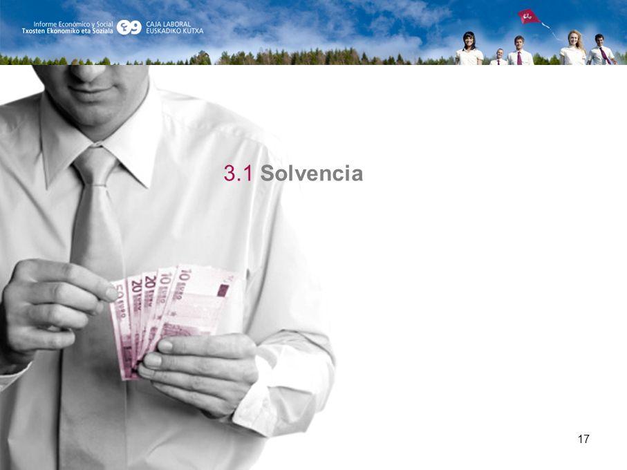 17 3.1 Solvencia