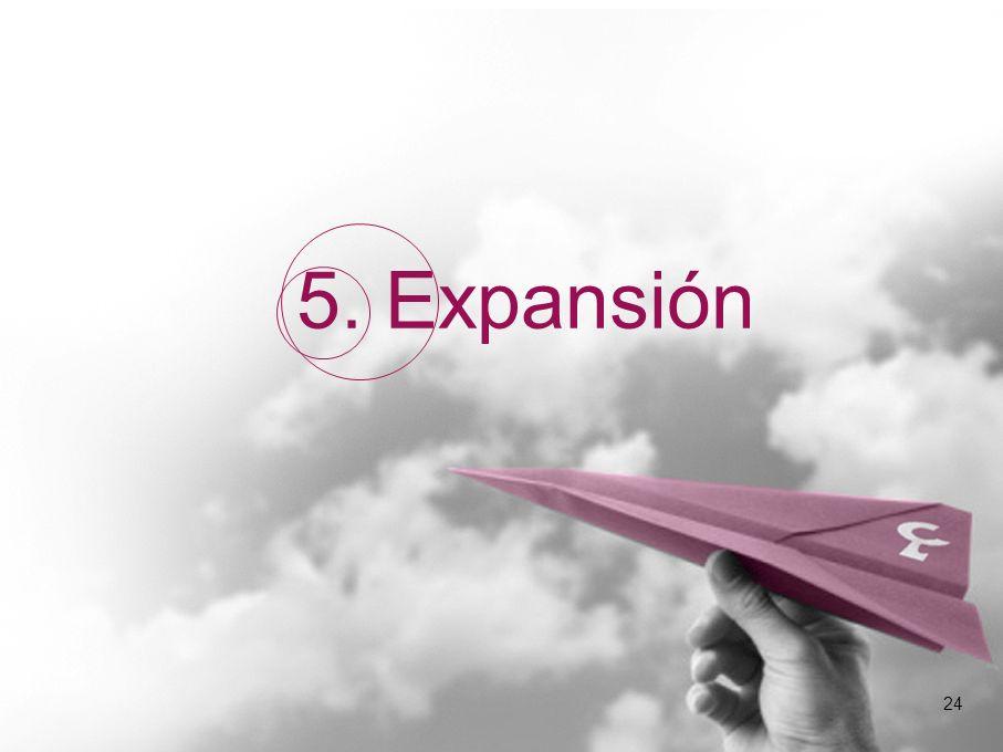 24 5. Expansión 24