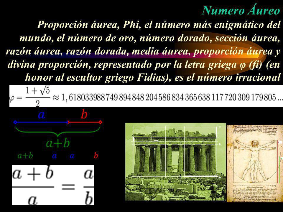 Numero Áureo Proporción áurea, Phi, el número más enigmático del mundo, el número de oro, número dorado, sección áurea, razón áurea, razón dorada, med