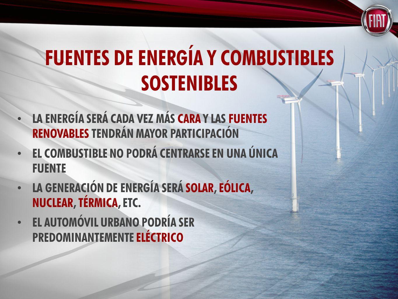 LA ENERGÍA SERÁ CADA VEZ MÁS CARA Y LAS FUENTES RENOVABLES TENDRÁN MAYOR PARTICIPACIÓN EL COMBUSTIBLE NO PODRÁ CENTRARSE EN UNA ÚNICA FUENTE LA GENERACIÓN DE ENERGÍA SERÁ SOLAR, EÓLICA, NUCLEAR, TÉRMICA, ETC.