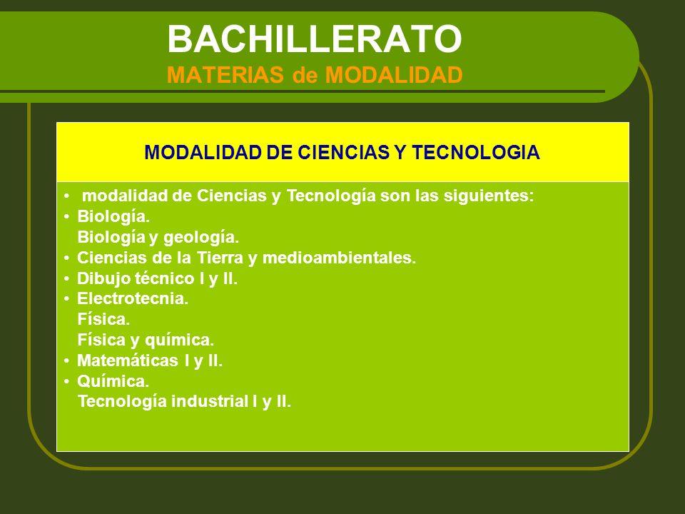BACHILLERATO MATERIAS de MODALIDAD MODALIDAD DE HUMANIDADES Y CIENCIAS SOCIALES modalidad de Humanidades y Ciencias Sociales son las siguientes: Economía.