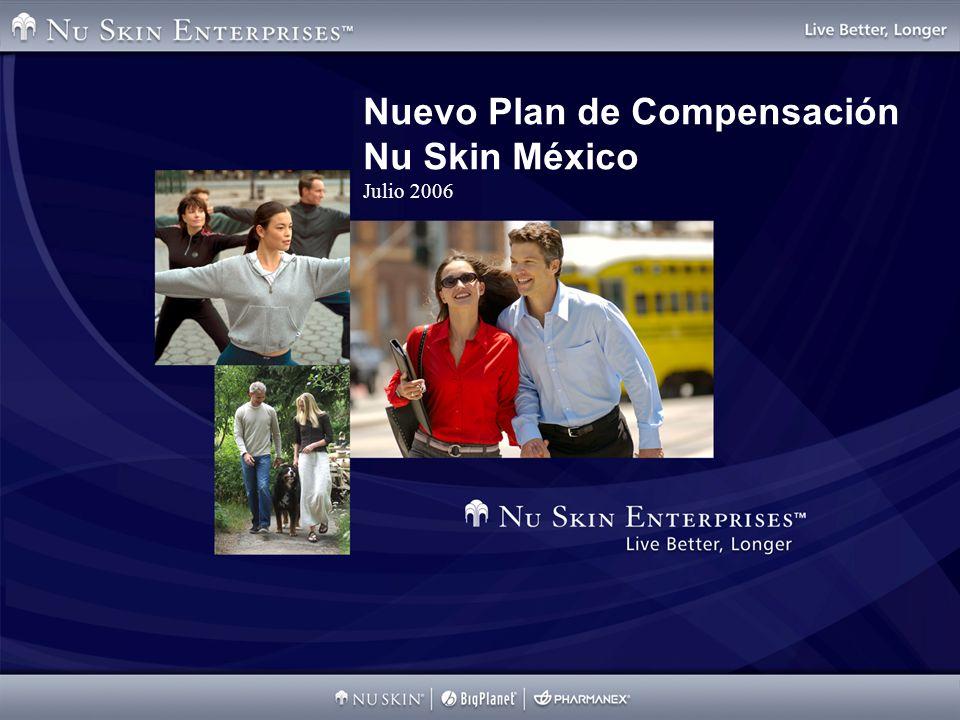 Nuevo Plan de Compensación Nu Skin México Julio 2006