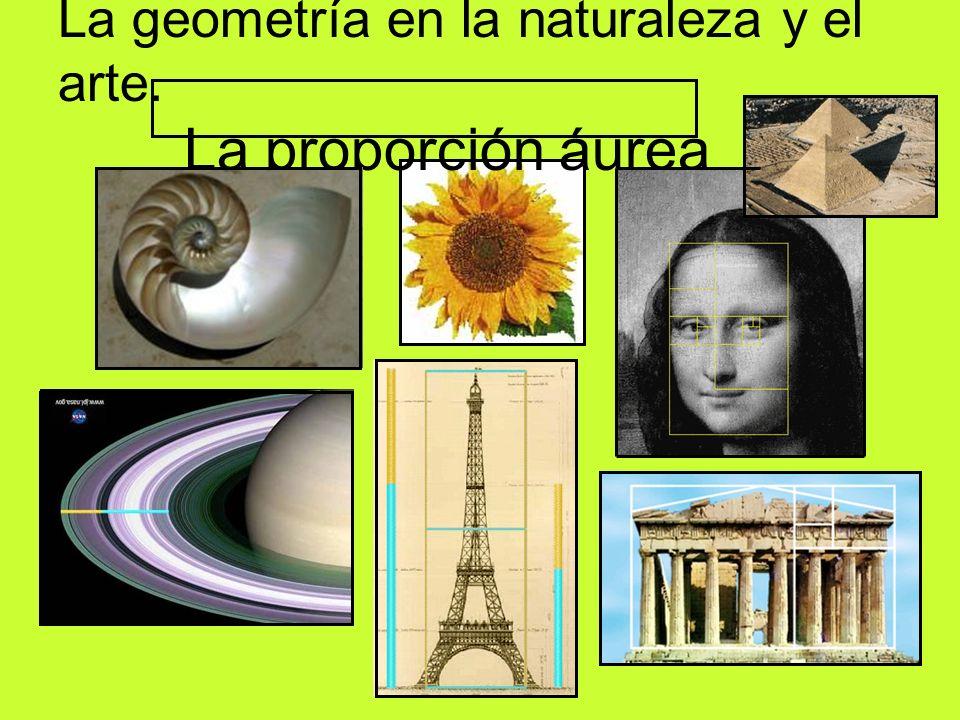 La geometría en la naturaleza y el arte. La proporción áurea