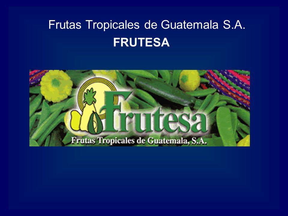 Frutas Tropicales de Guatemala S.A. FRUTESA