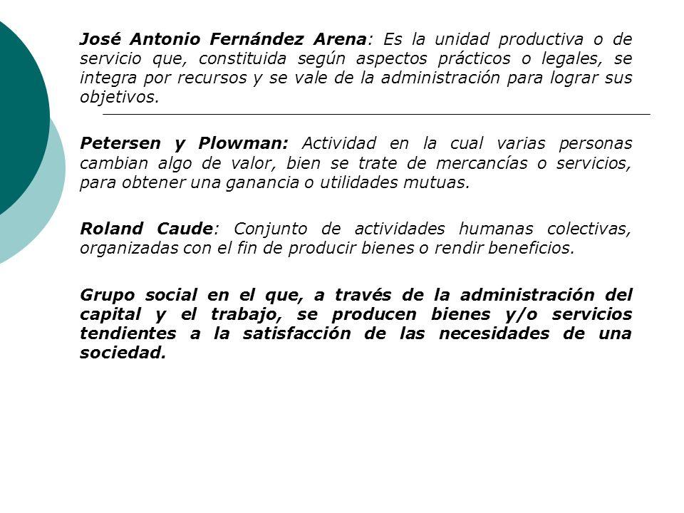 Diccionario Real Academia Española: La entidad integrada por el capital y el trabajo, como factores de producción y dedicada a actividades industriale