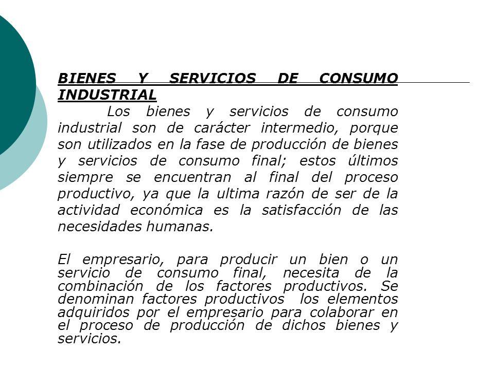Tema No. 3 Por su giro o naturaleza de Bienes y Servicios de Consumo El consumo es la actividad humana mediante la cual se destruyen los bienes con el