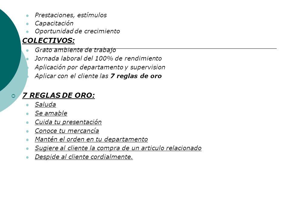 Tema No. 7 Objetivos de la Empresa. Por su importancia relativo BASICOS: Consolidación del patrimonio Crecimiento sostenido Ser líder en el ramo Excel
