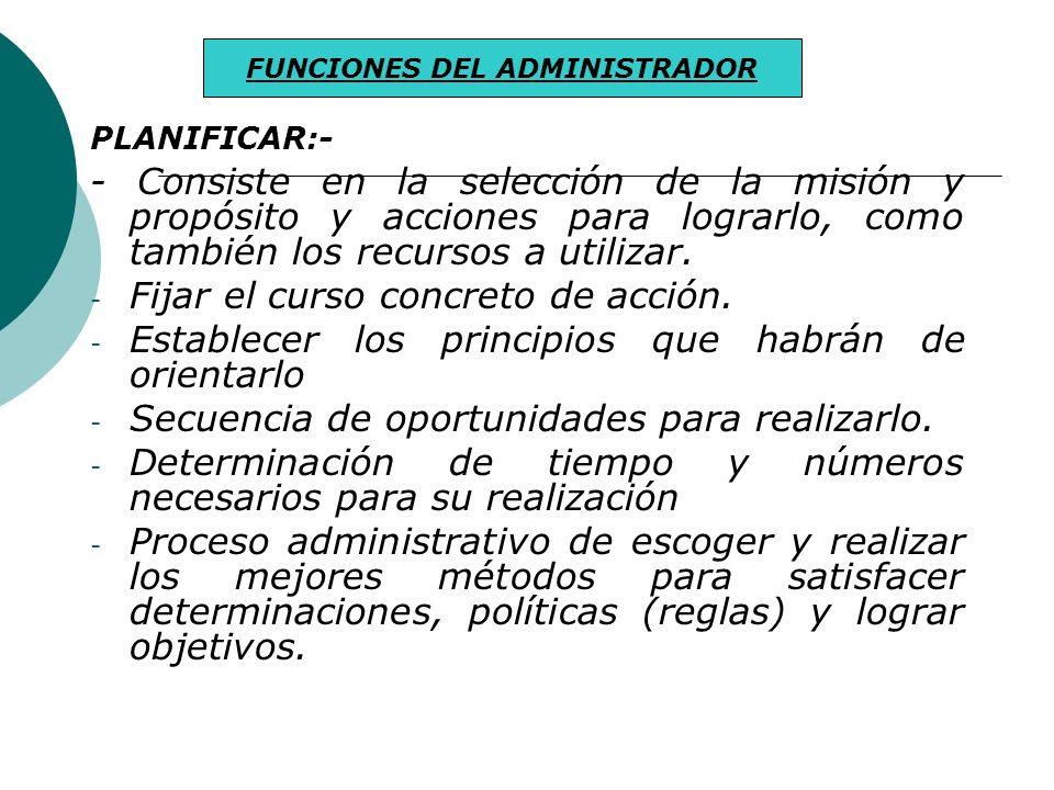 CAMPO DE ACCION PROFESIONAL DEL LICENCIADO EN ADMINISTRACION DE EMPRESAS ENTIDADES - Recursos Humanos - Recursos Financieros - Tecnológico - Materiale