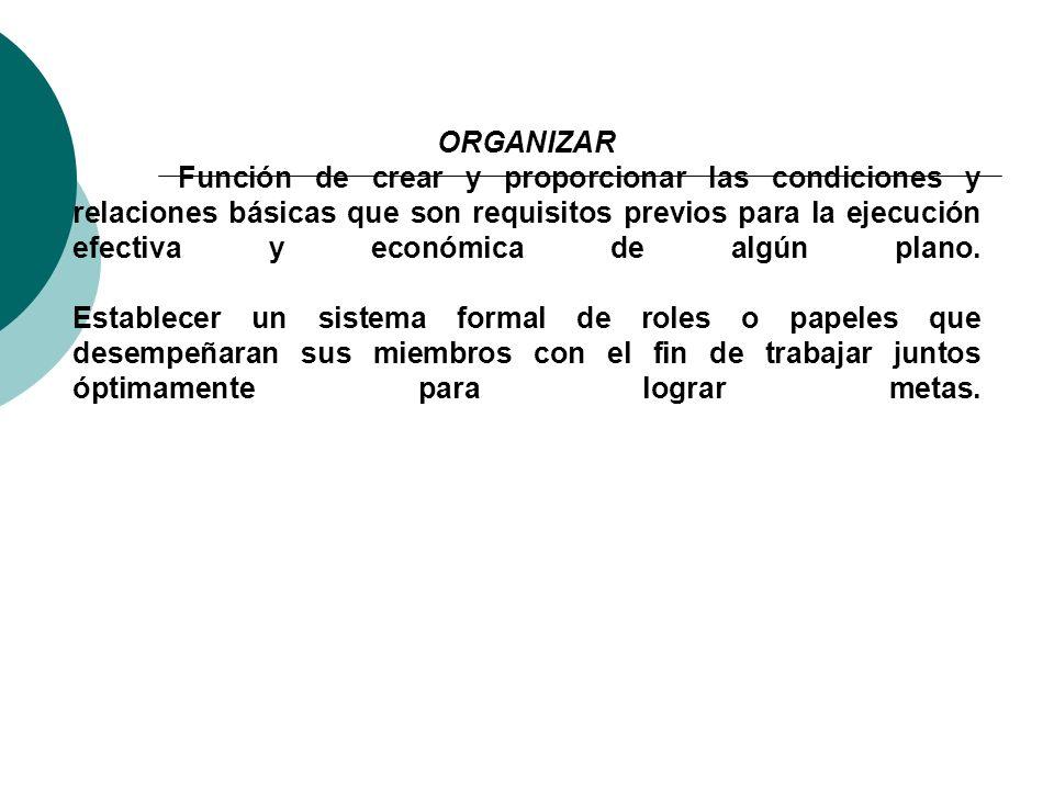 PLANIFICAR:- - Consiste en la selección de la misión y propósito y acciones para lograrlo, como también los recursos a utilizar. - Fijar el curso conc