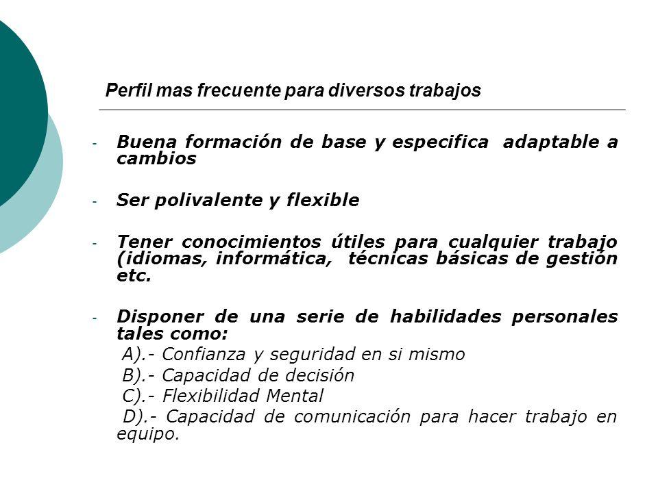 Otras características: A).- Polivalente: Capacidad para cubrir o hacer diversas actividades y tareas con el menor costo posible de mano de obra. B).-