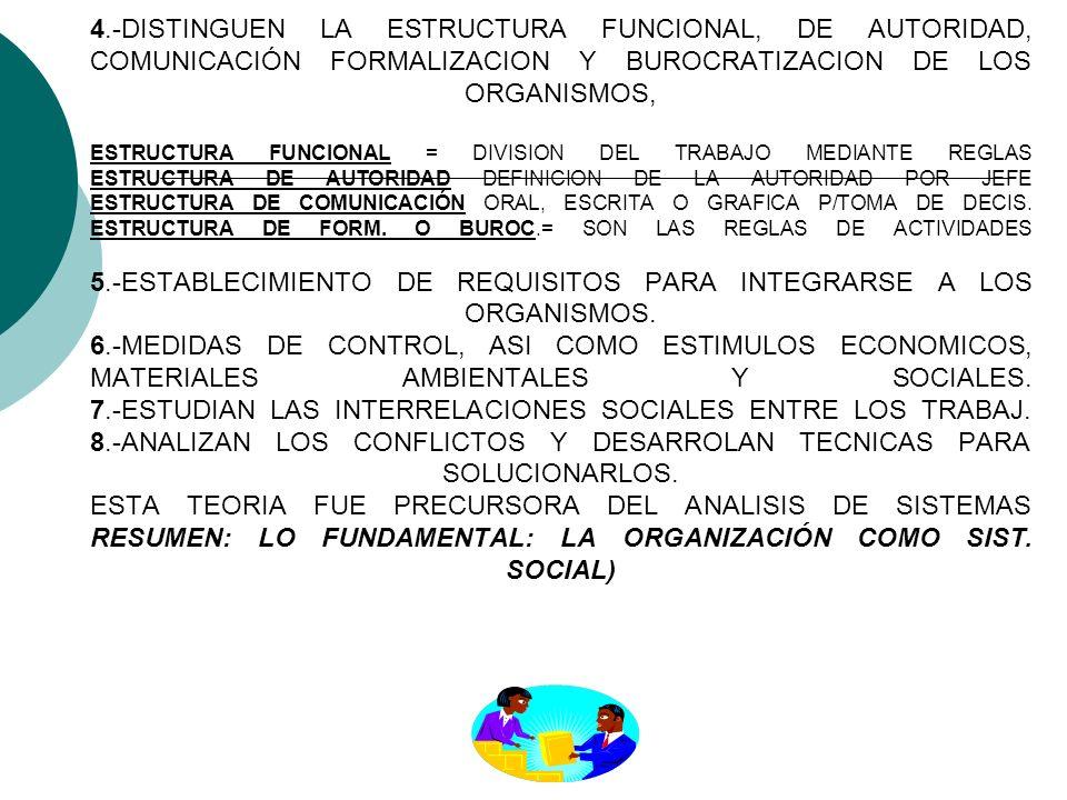 ELEMENTOS DE ESTUDIO DE LA ESCUELA ESTRUCTURALISTA 1.-EXAMINAN LA EVOLUCION HISTORICA DE LAS SOCIEDADES Y LOS TIPOS DE ORGANIZACIÓN ECONOMICA, POLITIC